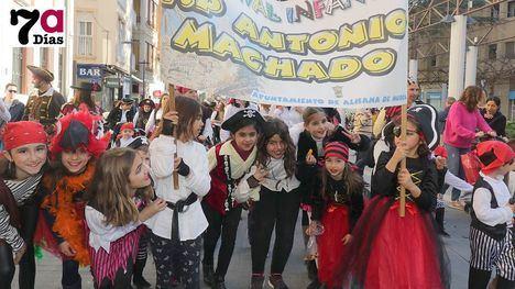 VÍDEO/FOTOS Los piratas más simpáticos del Antonio Machado