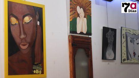 V/F El Bar Los Olmos acoge la exposición de Mercedes Campos