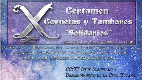 El Amor de Alhama, en el Certamen solidario del Flagelado de Totana