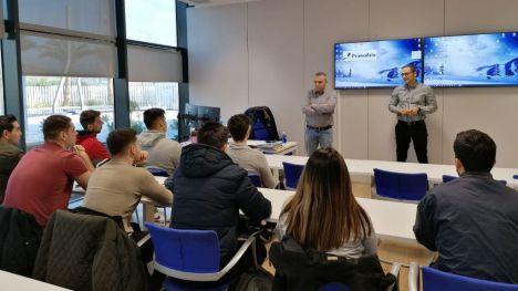 Primafrio pone en contacto a alumnos de FP Dual con el mundo de la empresa