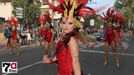 V/F Apocalipsis honra al elemento fuego en el Carnaval de Alhama