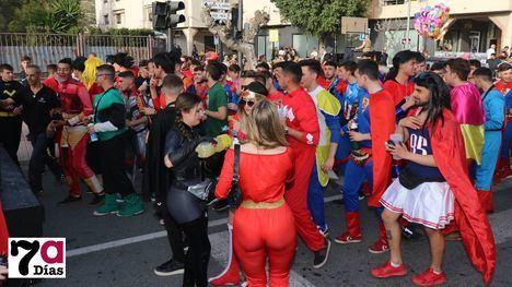 VÍDEO/FOTOS ¿Kedeké vas? De superhéroe al Carnaval de Alhama