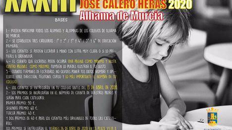 Abierta la convocatoria del Concurso Infantil de cuentos José Calero