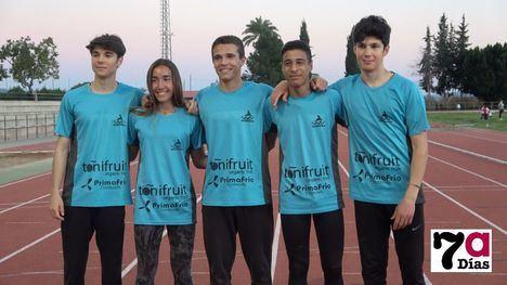 VÍDEO Cinco atletas de Alhama participarán en el Cto. de España