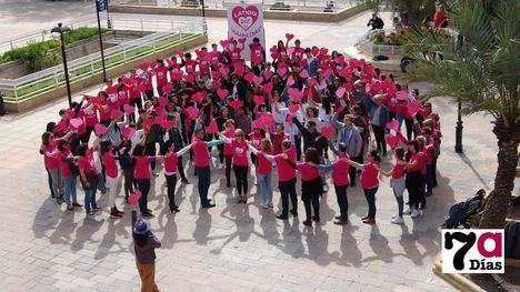 VÍDEO/FOTOS Alhama vuelve a levantar sus Latidos por la Igualdad
