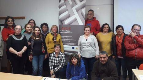 FOT. 30 desempleados se forman en Alhama con el Proyecto Labor