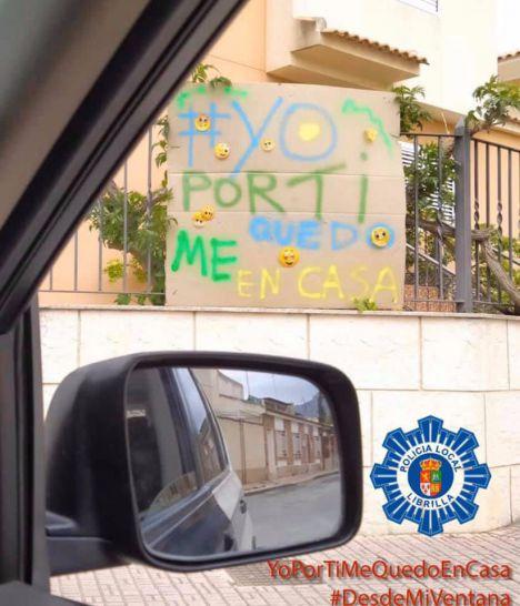 La Policía Local de Librilla se suma al reto de la Policía de Alhama