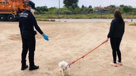 Directrices de la Policía Local a la hora de sacar al perro