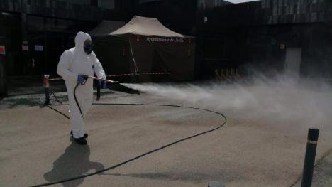 La desinfección y limpieza de Librilla se realizará a diario