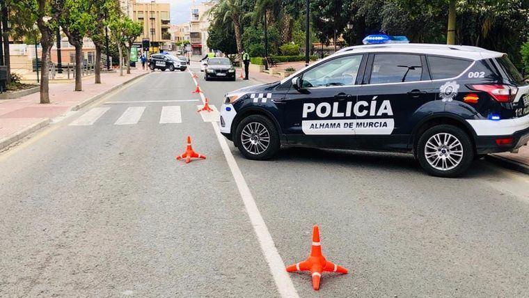 Segundo balance de actuaciones de la Policía Local de Alhama