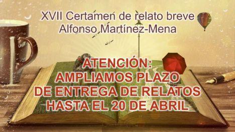 El plazo del Certamen A. Martínez-Mena, hasta el 20 de abril