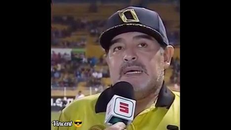 VÍDEOMEMEs Maradona te explica sus planes de cuarentena