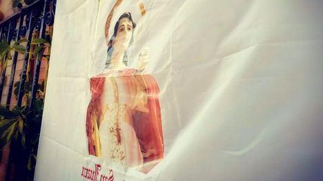 San Juan Evangelista llama a llenar Alhama de banderas blancas
