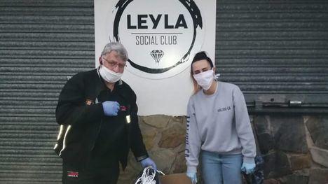 FOTOS Continúa el reparto de mascarillas en comercios de Librilla