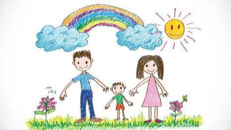 El reto del día: Haz un dibujo 'Mi familia es un cuadro'