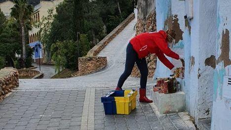 FOTOS Cruz Roja Alhama reparte comida en Pliego