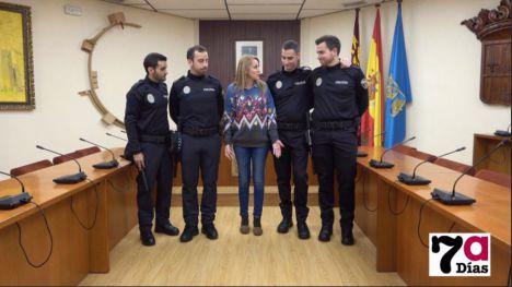 Los 4 policías locales en prácticas de Alhama se incorporan a la plantilla