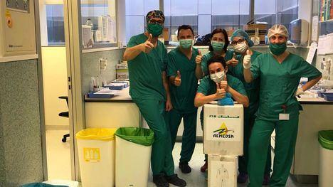 AEMEDSA dona 100 trajes químicos al hospital Santa Lucía