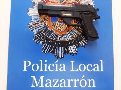 La Policía Local de Mazarrón detiene a un conductor a la fuga