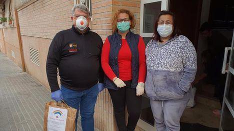 Protección Civil de Librilla recibe pantallas protectoras