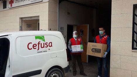 Cefusa dona equipos de protección sanitaria en zonas rurales