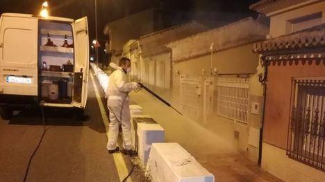 FOTOS Continúan las labores de limpieza en Alhama