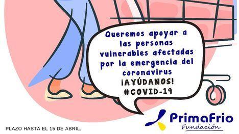 Fund. Primafrio lanza una campaña solidaria entre sus empleados