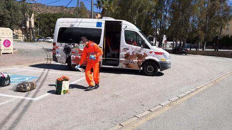 FOTOS Cruz Roja Alhama ayuda a las personas sin hogar