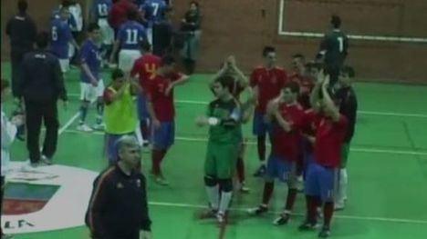 VÍDEO Librilla, testigo de la victoria de España ante Italia