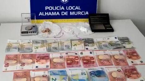 V/F Un totanero, detenido por venta de droga a domicilio