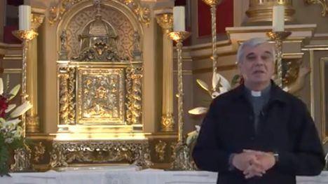VÍDEO Mensaje del párroco José Prior en este Jueves Santo