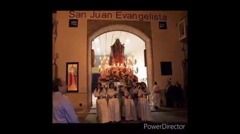 VÍDEO El Paso Blanco de Librilla comparte el sentir cofrade