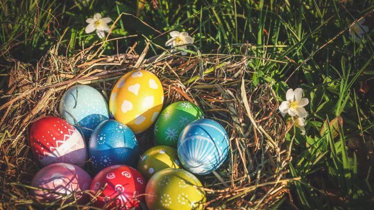 Pinta un huevo de Pascua y participa en el concurso
