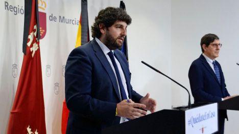 López Miras dice que el Covid19 durará menos con más confinamiento