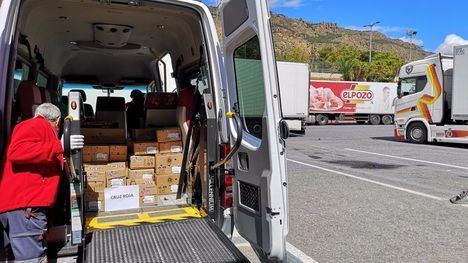 FOTOS Cruz Roja Alhama agradece las donaciones de ElPozo