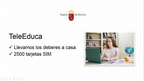 Educación pone en marcha el servicio 'TeleEduca'