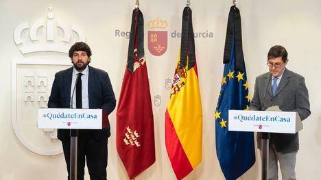 VÍDEO López Miras reclama decisiones bajo criterios científicos