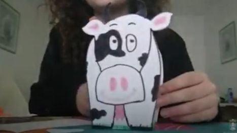 VÍDEO Cómo hacer una vaca que guarde lápices, pinturas y bolis