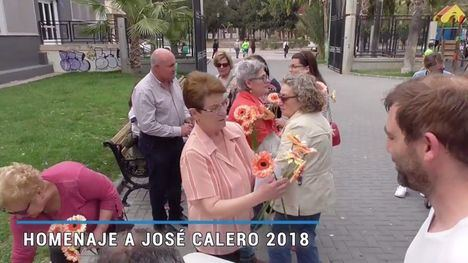 VÍDEO Ceres rinde homenaje a su maestro José Calero Heras