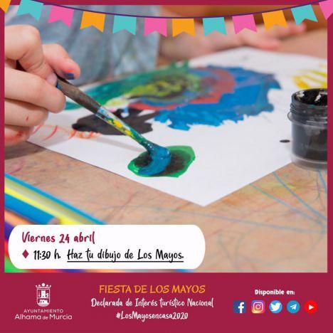 Participa en la exposición de dibujos #LosMayosEnCasa2020
