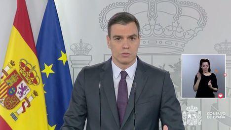 Sánchez anuncia una desescalada gradual, asimétrica y coordinada