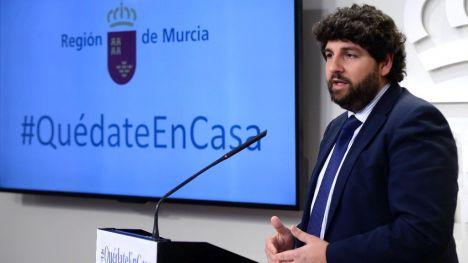 López Miras reclama a Pedro Sánchez que vigile la movilidad