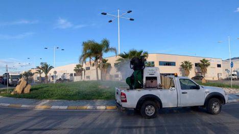 El tratamiento contra el mosquito tigre, en el Parque Industrial