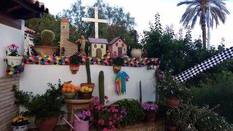 FOTOS La Cruz de Mayo de la familia de Sonata, por los que se han ido