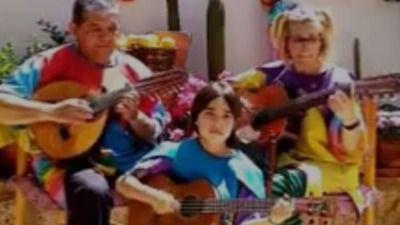 VÍD. La Familia Sonata organiza un Encuentro de Cuadrillas en su casa