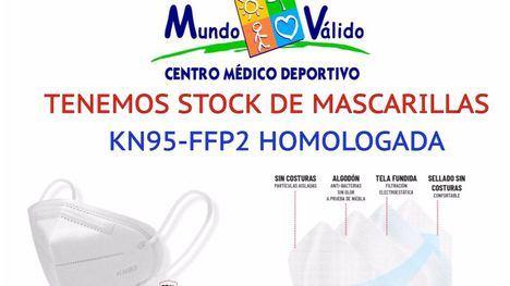 Mundo Válido pone a la venta mascarillas FFP2 homologadas