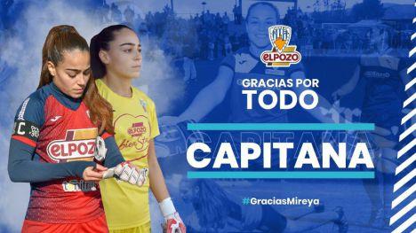 La guardameta azulona Mireya Giménez deja el Alhama CF ElPozo