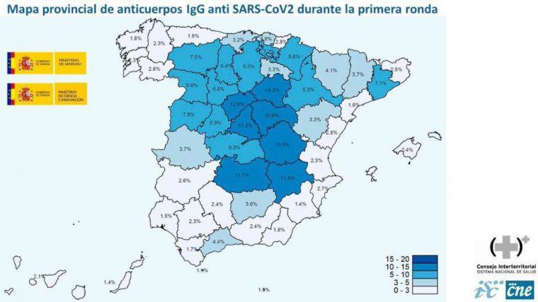 La Región, una de las provincias con menos inmunidad a la Covid19