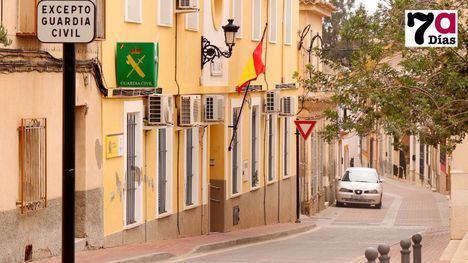 Imagen de Archivo del Puesto de la Guardia Civil en Alhama.