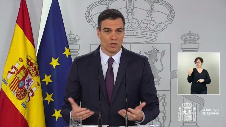 Sánchez pedirá una prórroga del estado de alarma de un mes